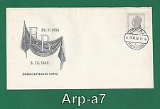 (FC802) Czechoslovakia FDC - First Day Cover 1948 Death Dr. E.Benes