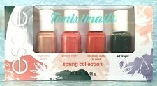 NEW! essie SPRING 2016 4-pc Mini Nail Polish Set ~ affair lover sunshine tropic