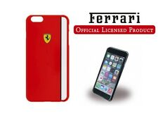 "ORIGINALE Ferrari Scuderia Custodia Rigida per iPhone 6 6S Plus 5.5 ""ROSSO"