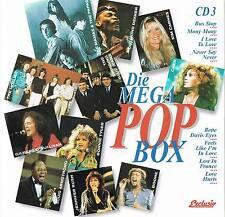 Musik CD Sampler Die Mega Pop - Box CD 3