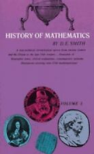 History of Mathematics, Vol. 1 (General Survey of the History of Eleme-ExLibrary