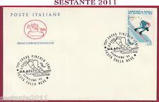 ITALIA FDC CAVALLINO FESTA SULLA NEVE SCINSIEME '90 US ACLI 1990 PINZOLO TN T144