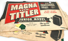 MAGNA TECH TITLER PROFESSIONAL TITLES, VINTAGE SET OF 2