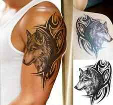 Large Were Wolf  Waterproof Temporary Removable Tattoo Body Arm Leg Art Sticker