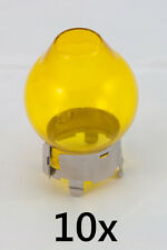 Yellow cap for H4 car light bulb - french style !!! set of 10 caps !!! oldtimer