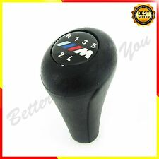 1x Black Gear Knob Shift 5 speed for BMW 3 5 7 series M E36 E46 E34 E39 E38 FF