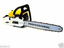 "20"" GASOLINE CHAINSAW MACHINE CUTTING WOOD GAS CHAIN SAW ALUMINUM CRANKCASE"