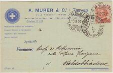 TREVISO - PRODOTTI CHIMICI E FARMACEUTICI - A.MURER & C. 1924