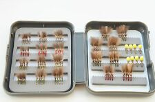 Elite 88 Competition CDC Owl and Suspender Owl dry flies selection boxed