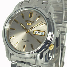 "Seiko Men's SNKK67 ""Seiko 5"" Grey Dial Stainless Steel Automatic Watch"