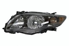 2009 2010 TOYOTA COROLLA S/XRS MODEL HEADLIGHT HEADLAMP LEFT DRIVER SIDE (BLACK)