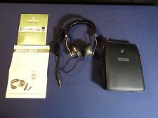 Vintage Pioneer SE-L401 Over the Ear Stereo Headphones with Storage Case
