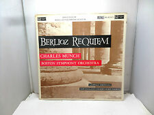BERLIOZ REQUIEM CHARLES MUNCH BOSTON ORCHESTRA RCA RB-16224/5  VINYL LP