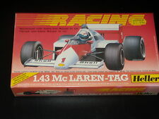 MAQUETTE- Mc LAREN-TAG - HELLER - RACING - F1 -1/43 - MODEL KIT- NEUVE SCELLEE
