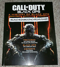 New Official Call Of Duty A History Of Black Ops 122 Page Colour Promo Book