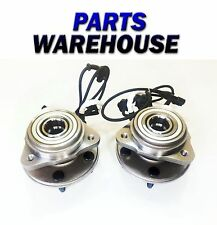 2 Front Wheel Hubs & Bearings For Explorer Mountaineer 4Wd
