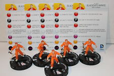 Justice League Trinity War #011 Blackgate Inmate (C) x 5 figure sets
