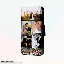 PERSONALISED FLIP WALLET Phone Case Cover for iPhone 4s 5s 6 & Samsung S4 S5 S6