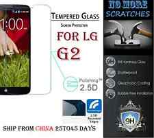 2.5D 9H REAL Tempered Glass Screen Protector LG G2 Vitre Trempé protecteur ecran