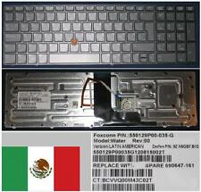 Clavier Qwerty Latino HP EliteBook 8560W 9Z.N6GBF.B1E 690647-161 550129P00-035-G
