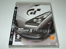 GRAN TURISMO 5 PROLOGUE by SONY for PS3 PLAYSTATION COMPLETE EXCELLENT CONDITION