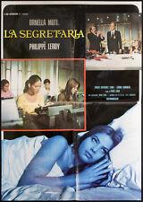 CINEMA-soggettone LA SEGRETARIA ornella muti,leroy,LARA