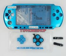 Blue Housing Faceplate Case Cover for PSP 3000 ( Factory B )
