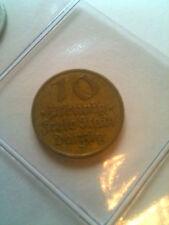 10 Pfennig / Deutsche Nebengebiete / Danzig / J.D13 / ss-vz / 1932 / Kupfer-Alu