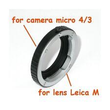 Adattatore Adapter lens Leica M a corpo Micro 4/3 - ID 2627