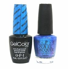 "OPI Soak-Off GelColor Gel Polish + Nail Polish ""I Sea You Wear OPI #A73"" 0.5 oz"