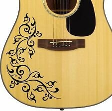 Vine Style - Vinyl Decal sticker for Guitar