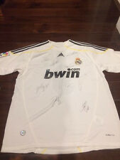 Adidas Ronaldo Number 9 Real Madrid Authentic Jersey with authentic Signatures