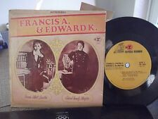 45@ FRANCIS A. & EDWARD K.W/ PICTURE SLEEVE  ON REPRISE RECORDS 4TRACKS DUKE