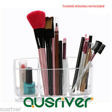 Multifunction Makeup Nail Polish Storage Lipstick Holder Brushes Organizer Box