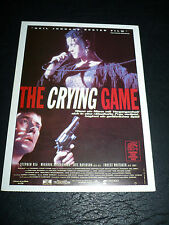 THE CRYING GAME, film card [Stephen Rea, Forest Whitaker, Miranda Richardson]