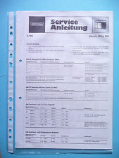 Service Manual for Grundig Music-Boy 100 ,ORIGINAL