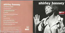 SHIRLEY BASSEY DAILY MIRROR LEGENDS 10 TRACK PROMO CD(FREE UK POST)