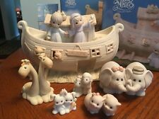 Precious Moments Two by Two Noah's Ark Night Light Figurine SET of 8 530948 Noah