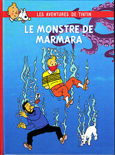 HOMMAGE A HERGE TINTIN LE MONSTRE DE MARMARA VERSION COULEURS