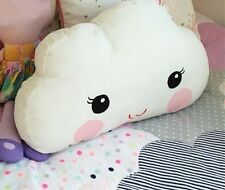 Cloud Shape Pillow Cushion Toys Sofa Smile Throw Pillow for Home Bed Decor