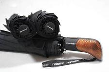 Tiross Automatic Open&Close Mens Umbrella Black,