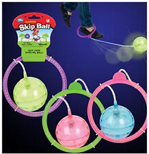 FLASHING SKIP BALL hop-it skipit jump rope exercise Skipping Fun Toy LIGHTED NEW