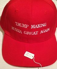 Republican TRUMP MAKING RUSSIA GREAT AGAIN Funny PARODY HAT EMBROIDERED 2016