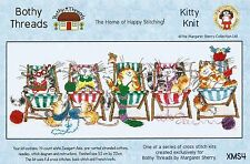 Bothy threads Kitty Knit margaret sherry Cross Stitch Kit xms4 2015