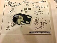 Harley NOS OEM Sportster Brake Light Switch # 72004-75 1975-78