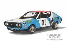 Renault R17 Gordini - Rallye Vercors-Vivarais 1975 - Therier - 1:18 - OttO 207
