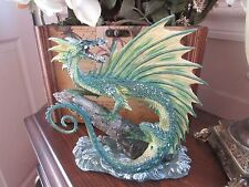 Dragonsite Andrew Bill AQUA Water Dragon Figurine Munro makers of Faerie Glen