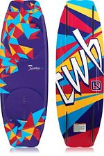 NEW $425 Gorgeous & RARE CWB Sapphire 140cm Womens Wakeboard water skiing ladies