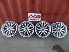 """FORD PERFORMANCE 2015 - 2017 MUSTANG 19"""" SILVER PERFORMANCE PACK WHEELS (4)"""