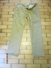 "TOP MAN SLIM CHINO 32R WAIST 31"" LEG LIGHT BROWN  TROUSERS TOPSHOP"